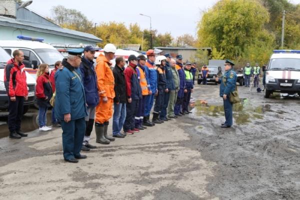 тренировка, гражданская оборона, МЧС, Курган|Фото:ГУ МЧС России по Курганской области