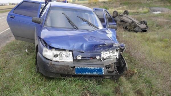 Куртамыш, авария, ВАЗ Фото:ГИБДД УМВД России по Курганской области