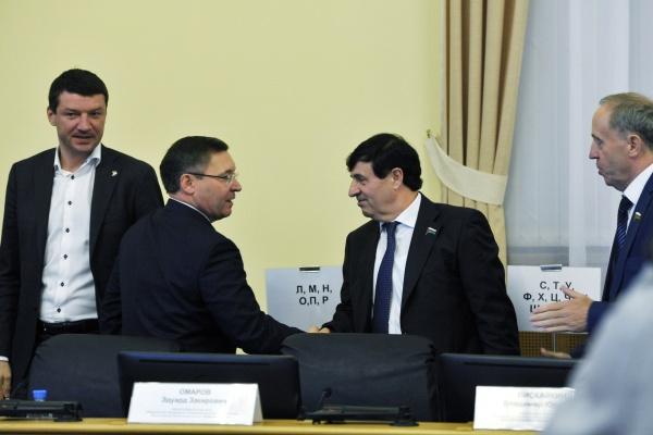Первое заседание Тюменской областной думы, выступление Якушева|Фото: admtyumen.ru