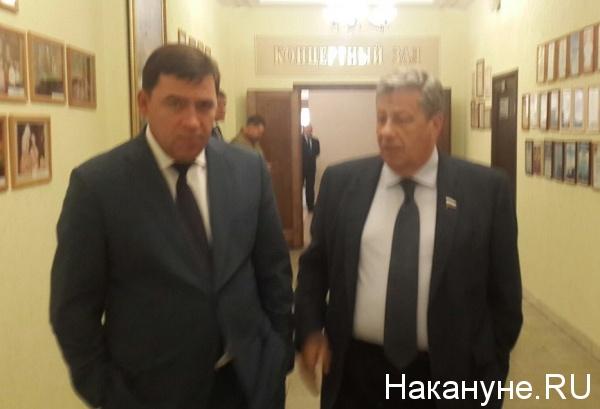 Евгений Куйвашев, Аркадий Чернецкий Фото: Накануне.RU