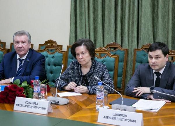 Наталья Комарова, встреча с депутатами|Фото:Департамент общественных и внешних связей Югры
