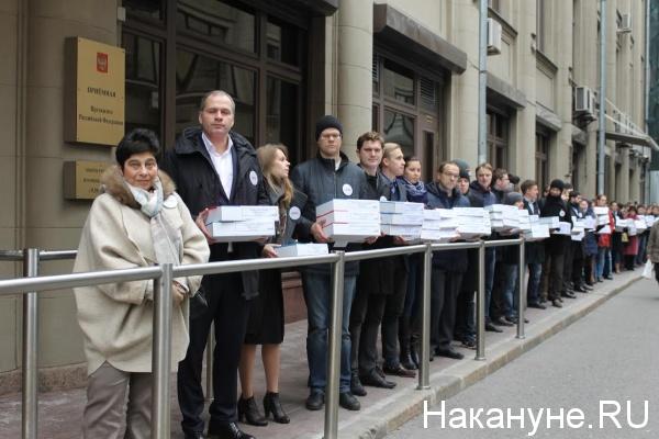 подписи против закона Крашенинникова, РВС, Мария Мамиконян|Фото: Накануне.RU