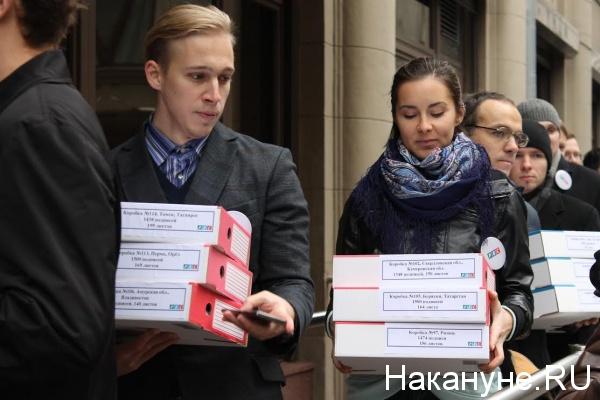 подписи против закона Крашенинникова, РВС|Фото: Накануне.RU