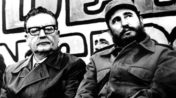 Сальвадор Альенде и Фидель Кастро|Фото: