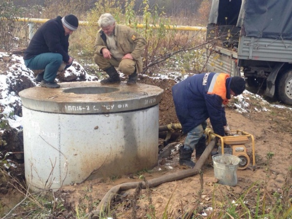 поселок Иркускан, Саткинский район, авария на водоводе,|Фото: пресс-служба губернатора Челябинской области