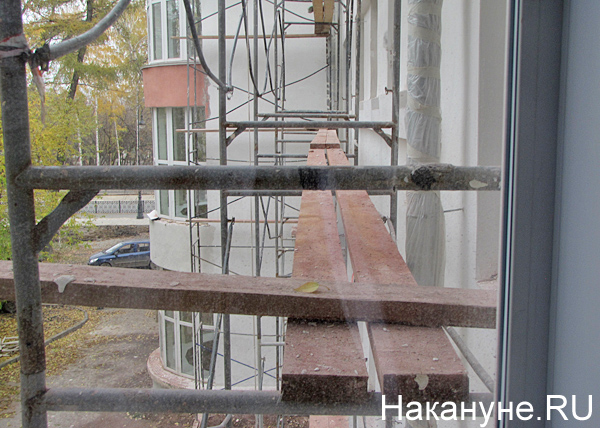 НИИ ОММ, реконструкция фасада Фото: Накануне.RU