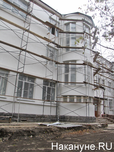 НИИ ОММ, реконструкция фасада|Фото: Накануне.RU