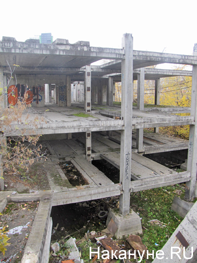 НИИ ОММ, недострой, недостроенный акушерский корпус Фото: Накануне.RU