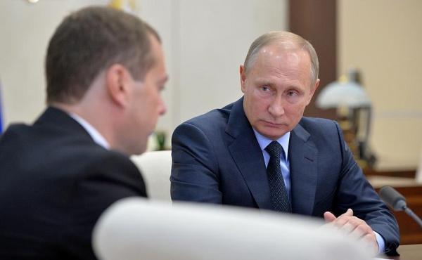 Владимир Путин Дмитрий Медведев|Фото: пресс-служба президента России