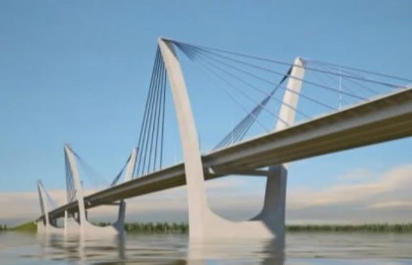 Мост через Обь, Сургут, первый в ХМАО платный мост|Фото: sitv.ru