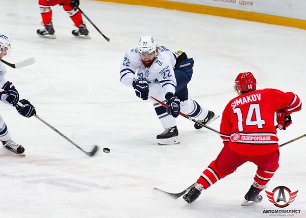 хоккей, КХЛ, Автомобилист, Динамо|Фото: ХК Автомобилист