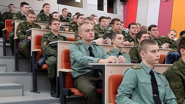УрФУ, лекция, курсанты|Фото: УрФУ