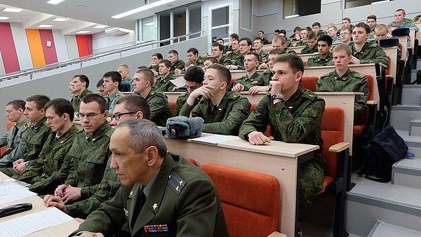 УрФУ, лекция, курсанты|Фото:УрФУ