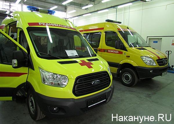 скорая помощь автомобиль реанимация Фото: Накануне.ru