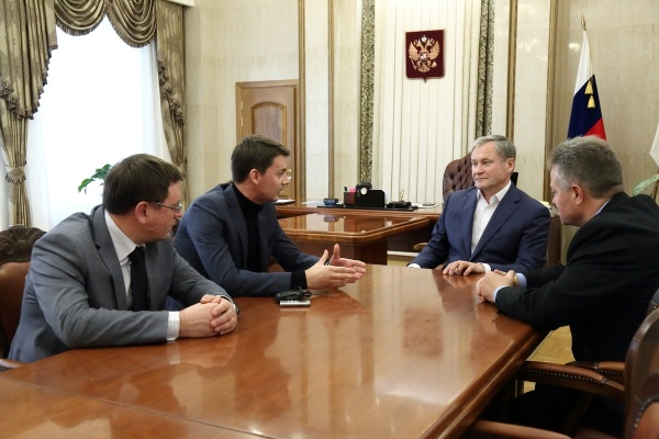 Алексей Кокорин, Александр Кулиш, Ростех Фото:пресс-служба губернатора Курганской области
