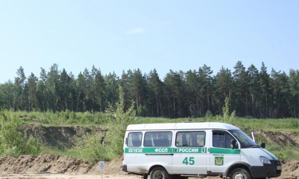 УФССП, должники, арендаторы, лес|Фото:УФССП России по Курганской области