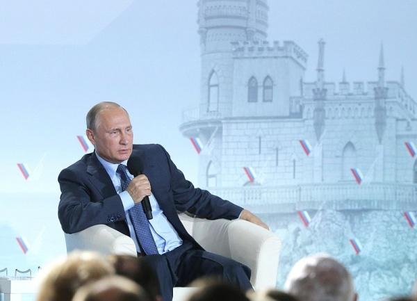 Владимир Путин, Валдай, Валдайский форум|Фото:Пресс-служба Кремля