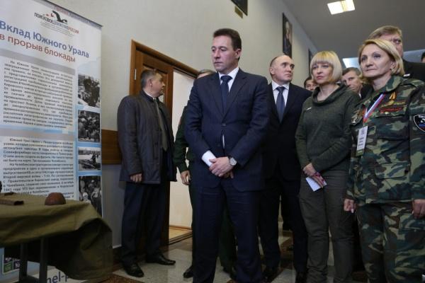 Игорь Холманских, Борис Дубровский,|Фото: пресс-служба губернатора Челябинской области