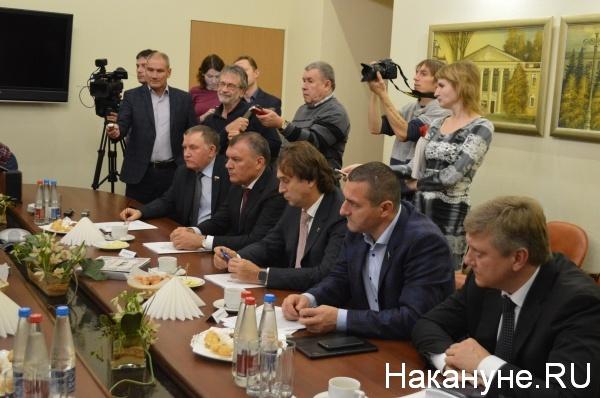встреча, депутаты, губернатор, Курган|Фото:Накануне.RU