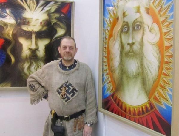 Пермский художник Сергей Каменев Фото: periscop.prpc.ru