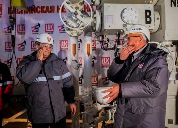 месторождение Филановского, нефть, платформа, добыча нефти, Лукойл, нефтяники|Фото: ПАО Лукойл