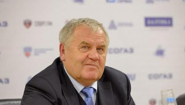 Владимир Крикунов главный тренер ХК Автомобилист Фото: hc-avto.ru