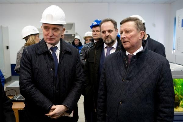 Борис Дуборвский, Сергей Донской, Сергей Иванов,|Фото: пресс-служба губернатора Челябинской области