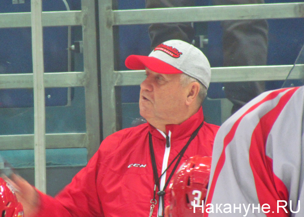 Владимир Крикунов, ХК Автомобилист|Фото: Накануне.RU