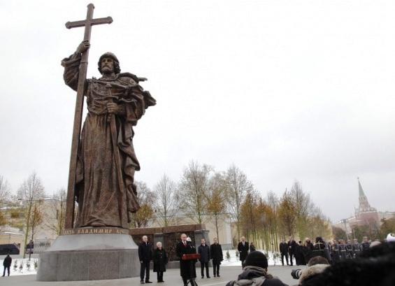 памятник князю Владимиру|Фото: РВИО