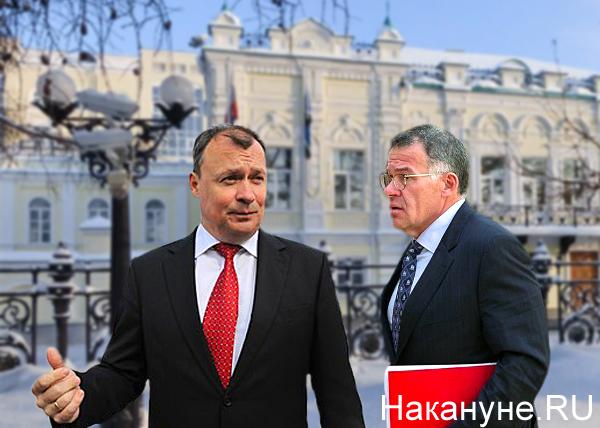 коллаж, Алексей Орлов, Владимир Тунгусов, администрация губернатора Фото: Накануне.RU