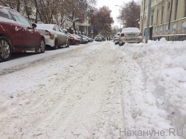 снег гололед Екатеринбург|Фото: Накануне.RU