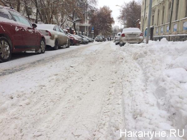 снегопад, сугробы, уборка улиц|Фото: Накануне.RU