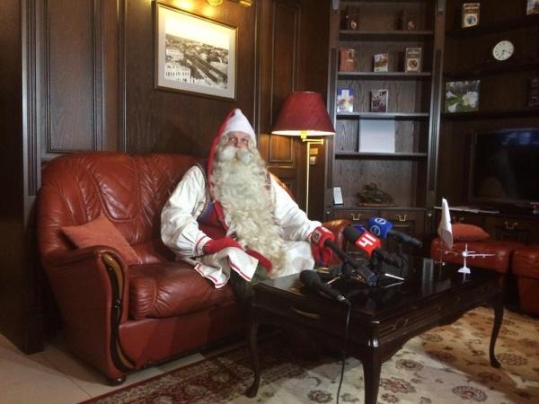 "Санта-Клаус,""Кольцово""|Фото: аэропорт ""Кольцово"""