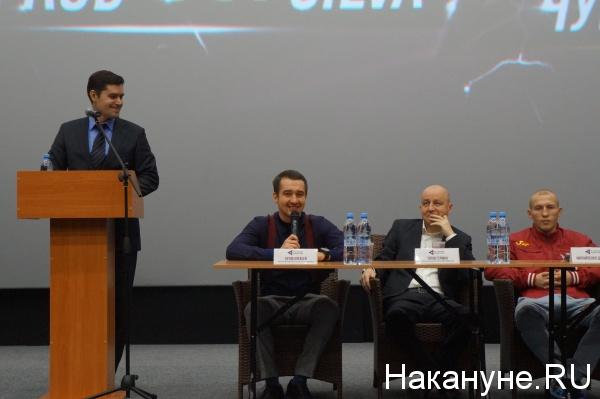 Алексей Титов Дмитрий Михайленко пресс-конференция|Фото: Накануне.RU