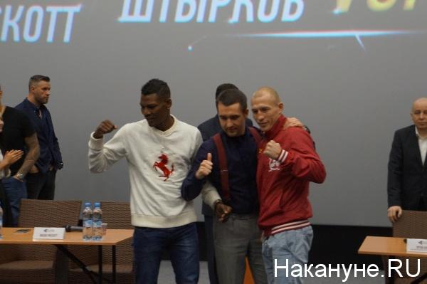 Дмитрий Михайленко Брейдис Прескотт бокс стердаун|Фото: Накануне.RU