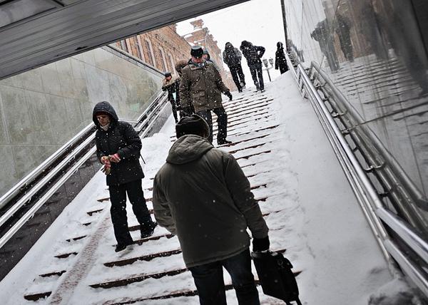 Екатеринбург, мороз, люди, холод, зима, подземный переход|Фото: мэрия Екатеринбурга