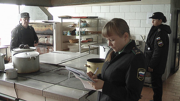 приставы столовая арест|Фото: УФССП по Свердловской области