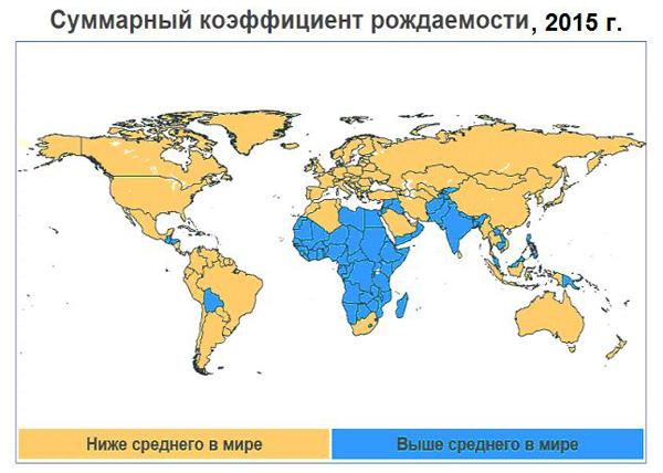 Суммарный коэффициент рождаемости|Фото: