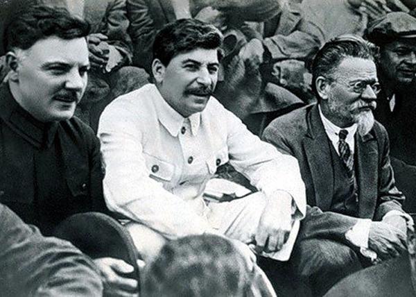 Ворошилов, Калинин, Сталин|Фото: