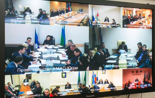 Заседание, Наталья Комарова, ледовые переправы, зимники Фото: admhmao.ru