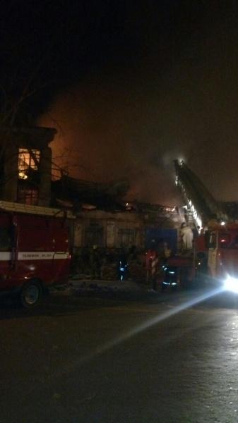 Пожар, спорткомплекс, Краснополянская, 17|Фото: 59.mchs.gov.ru