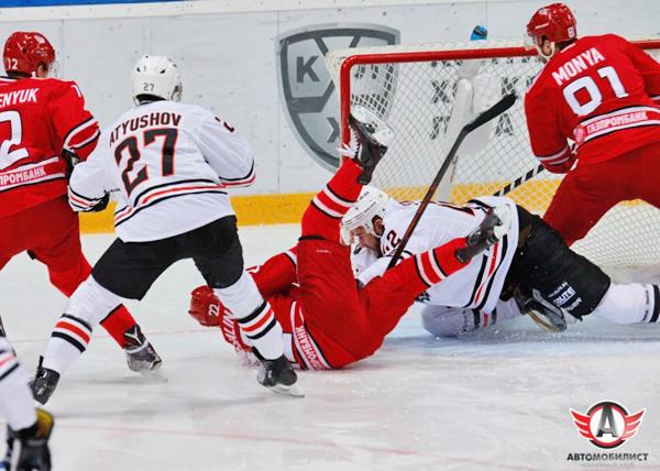 хоккей, КХЛ, Автомобилист, Амур|Фото: ХК Автомобилист