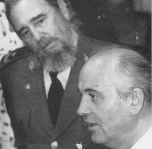 Кастро, Горбачев|Фото: