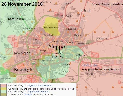 Сирия, Алеппо, 28 ноября, окружение, сирийская армия|Фото: