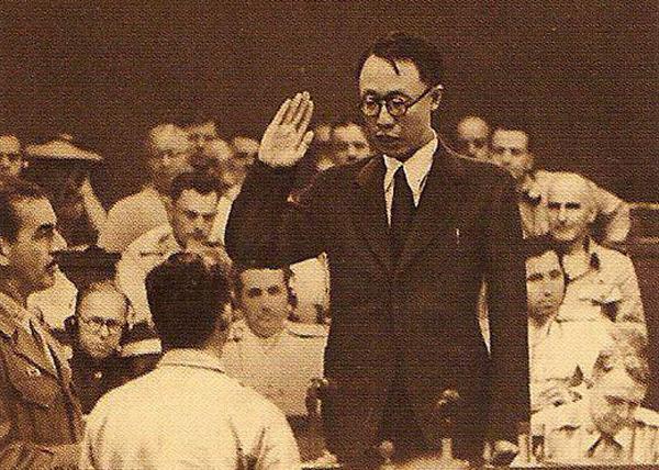 Токийский процесс, Токийский трибунал, Международный военный трибунал для Дальнего Востока Фото: pu-yi.narod.ru