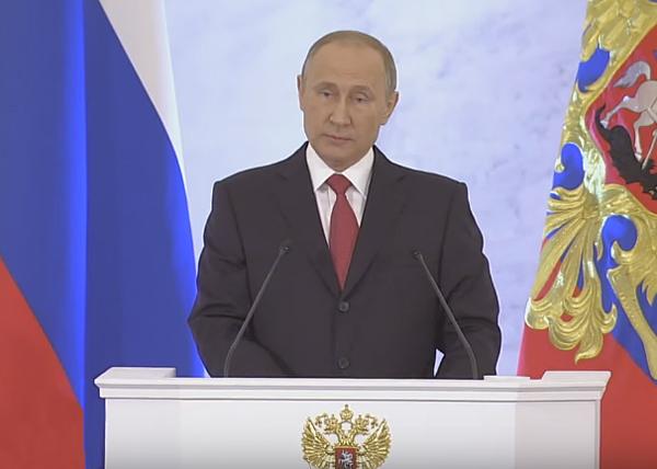 Владимир Путин, послание Федеральному собранию РФ|Фото: RT