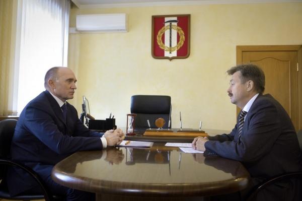 Борис Дубровский, Владимир Бисеров,|Фото: пресс-служба губернатора Челябинской области