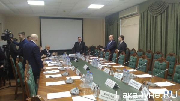 Заседание экспертного совета по Корпорации развития, Ханты-Мансийск Фото: Накануне.RU