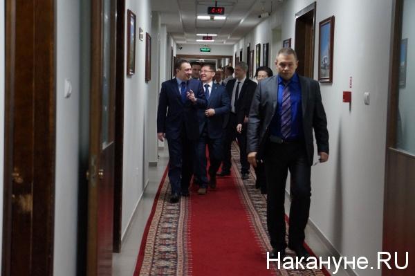 попечительский совет Корпорации развития, Игорь Холманских, Владимир Якушев Фото: