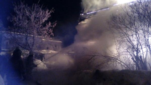 Березовский, пос. Монетный, пожар, МЧС|Фото: МЧС по Свердловской области